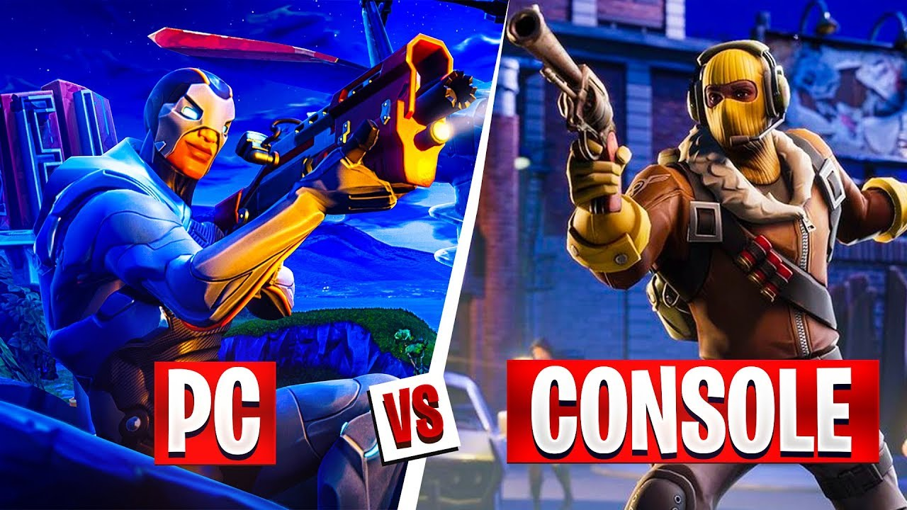 Fortnite: PC Players vs Console Players