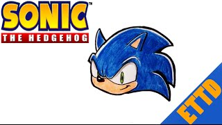 How to Draw Sonic the Hedgehog - Easy Things To Draw(How to Draw Sonic the Hedgehog - Easy Things To Draw In this video I go over how to draw Sonic the Hedgehog. I color him in colored pencil. Check out the ..., 2014-07-29T07:59:47.000Z)