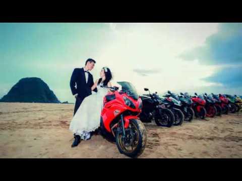 Cantik Foto Prewed Pake Motor Ninja Gallery Pre Wedding
