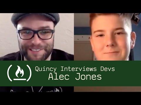 14 year-old chatbot developer Alec Jones - Quincy Interviews Devs