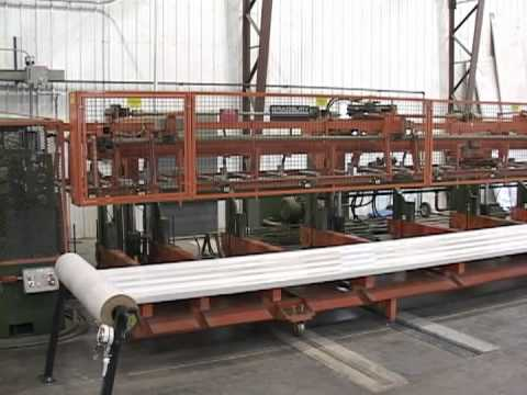 Bradbury High Speed Metal Building Panel Production Stacker