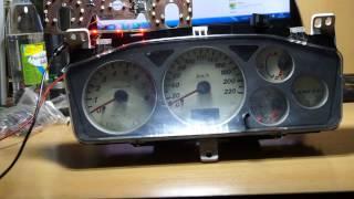 Mitsubishi Lancer IX приборная панель и печка раскатом