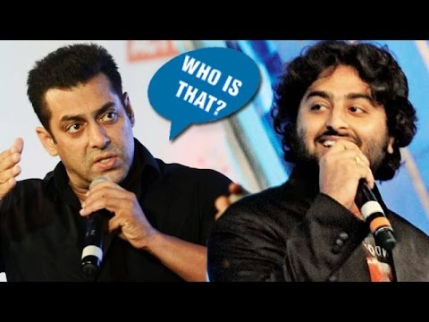 Salman Khan Finally REACTS On Arijit Singh Controversy