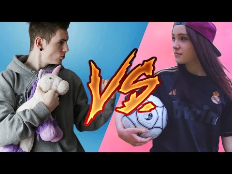 Som Gay ?! :D ● Boy vs Girl ║ Expl0ited a Moma