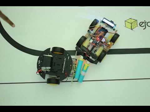 Arduino Smart and fast Line following Robot | Modified PID | LFR Contest