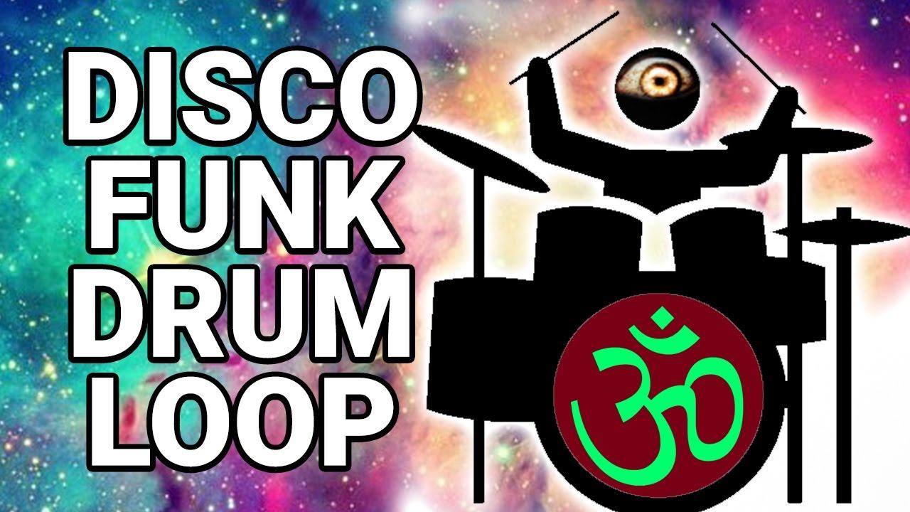 Free DISCO FUNK DRUM LOOP 110 bpm