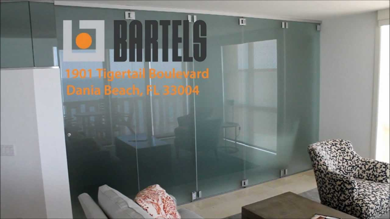 Glass Folding System SLIDO - offered by Bartels Doors - YouTube