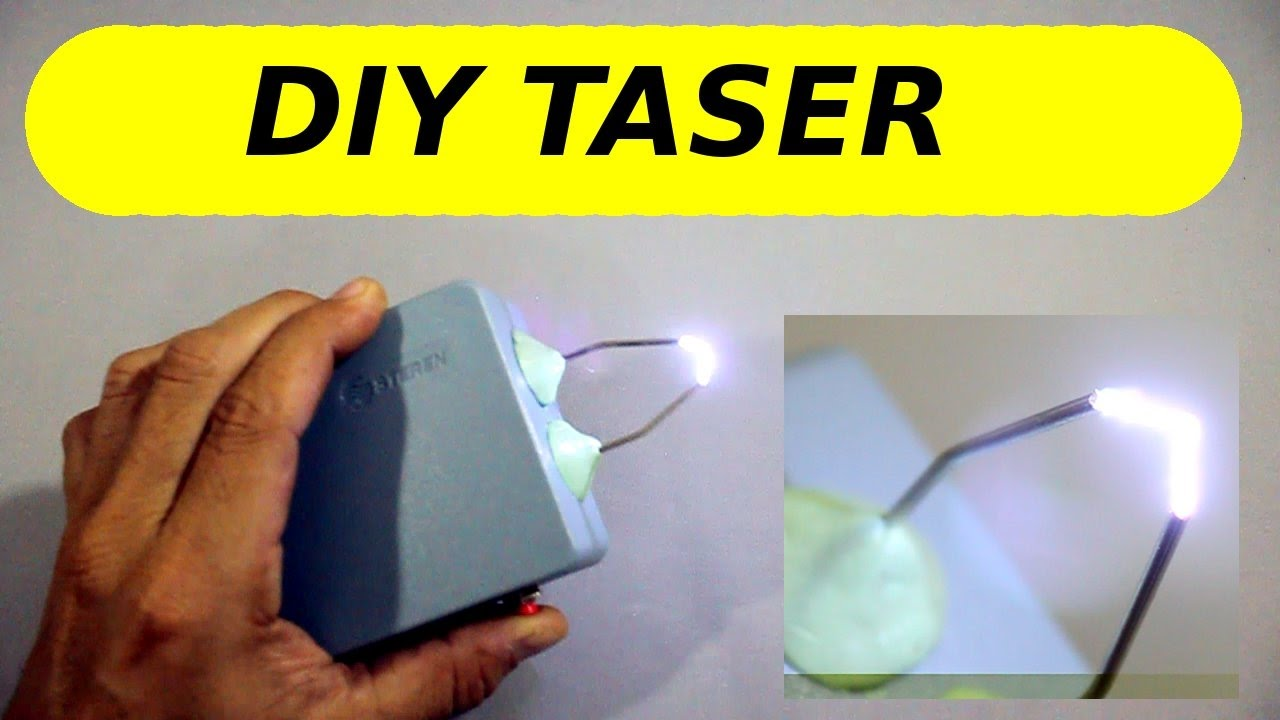 How to Make a DIY Taser Gun Homemade Circuit Projects Popeye in