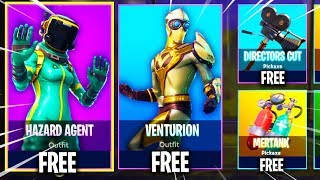 "NEW ""Hazard Agent Skin"" + ""Venturion Skin"" in Fortnite! - LEAKED Skins in Fortnite! (FREE SKINS)"