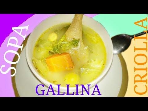 Caldo De Gallina Salvadorena COMO HACER CALD...