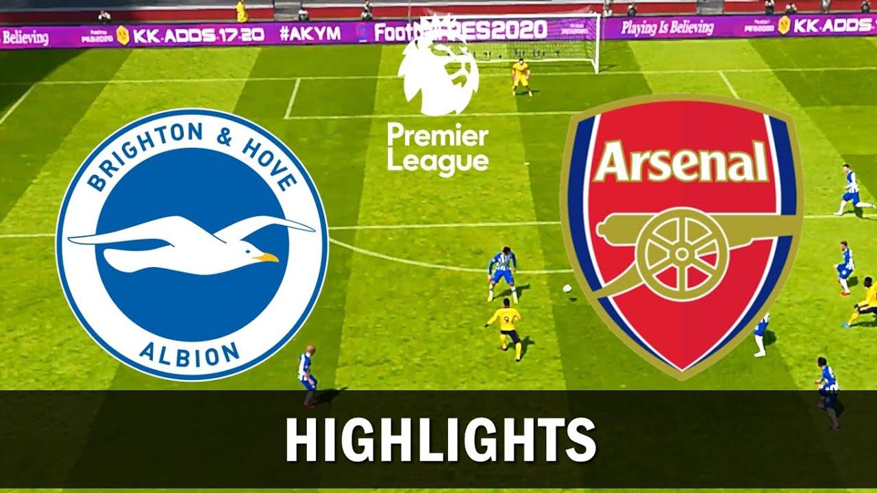 Download Brighton vs Arsenal - Highlights & All Goals - Premier League 2019/2020 - PES 2017 (PC/HD)