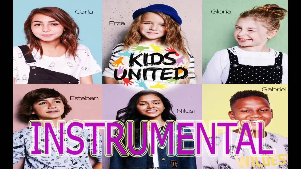 kids united on crit sur les murs instrumental youtube. Black Bedroom Furniture Sets. Home Design Ideas