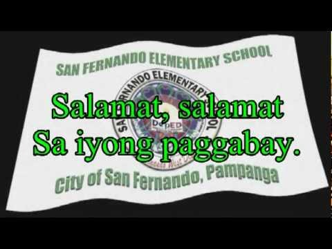Himno ng San Fernando Elementary School.mpg