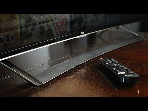 "[Review] Televisor BGH 55"" UHD Curvo"