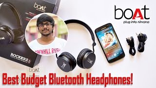 Best Budget Bluetooth Headphones? Boat Rockerz 400 Review!