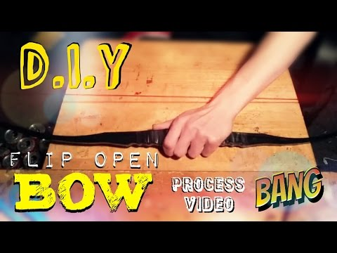 How To Make A Flip Open Bow | Process Video