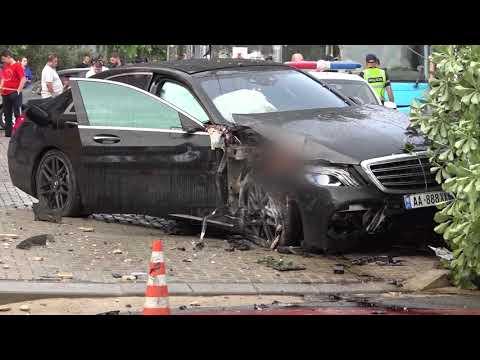Download Detaje nga aksidenti i rende ne Tirane, 23-vjeçarja pesoi demtime te gjymtyreve