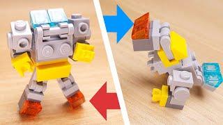[Лего міні-робот підручник] Грімлок трансформер робот