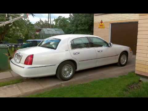 1999 lincoln town car for sale in europe burnout 24 22. Black Bedroom Furniture Sets. Home Design Ideas