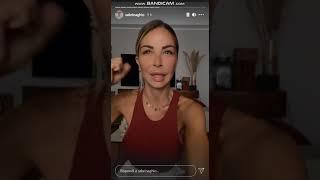 Sabrina Ghio parla del suo tumore