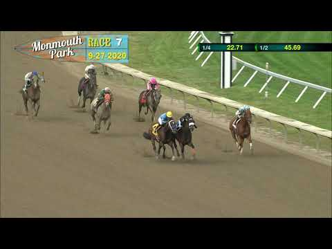 video thumbnail for MONMOUTH PARK 09-27-20 RACE 7