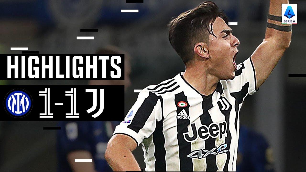 Inter 11 Juventus  Dybala Grabs Late Equaliser  Serie A Highlights