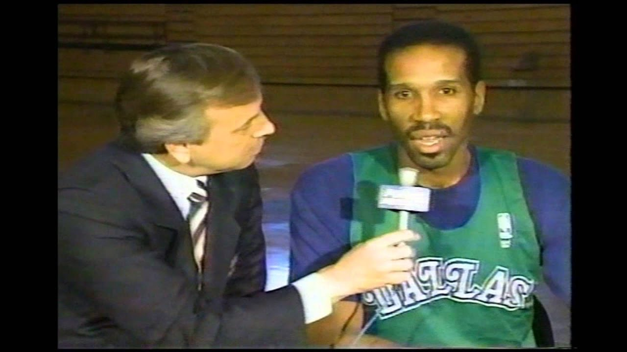 Adrian Dantley Interview 11 12 1989