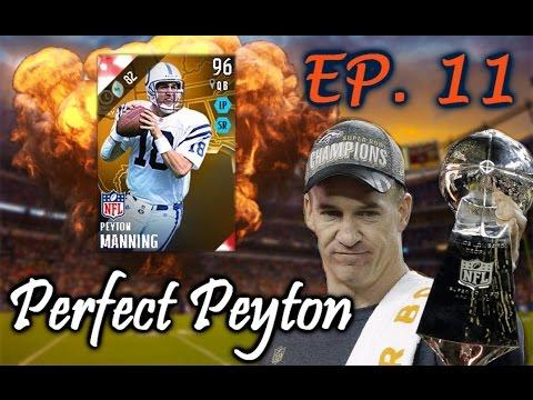 Perfect Peyton #11   NFL CHAMPIONSHIP GAME! SUPER BOWL BOUND?   Madden 16 Ultimate Team RTG