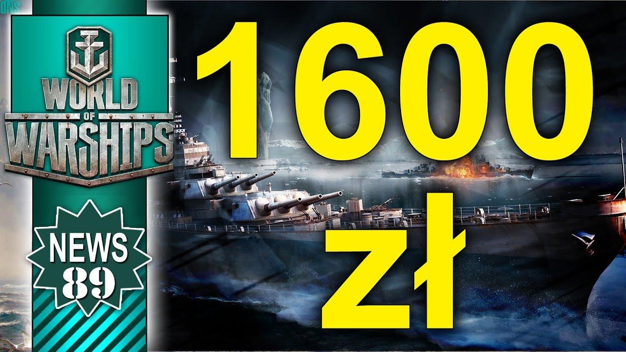 Zestaw za 1600zł w sklepie World of Warships