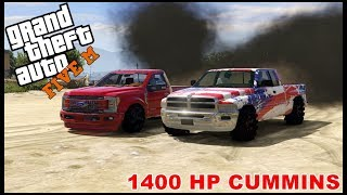 GTA 5 ROLEPLAY - 1400 HP CUMMINS DIESEL DIRT DRAG RACE  - EP. 414 - CIV(, 2018-06-16T13:00:03.000Z)