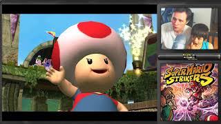 FUTEBOL DO MARIO! Super Mario Strikers - Gamecube - Gameplay em Português PT-BR