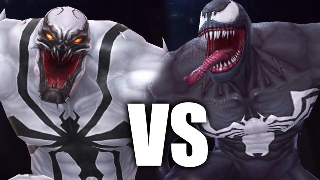 anti venom vs giant venom battle youtube