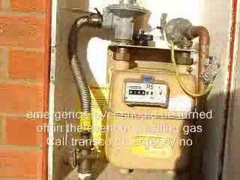Clocking Natural Gas Meter