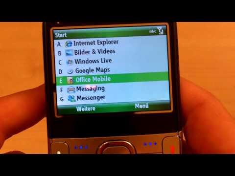Palm Treo 500 - Testbericht von VideoTube4You