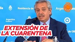 Extensión de la cuarentena hasta el 12 de abril: así la anunciaba el presidente Alberto Fernández
