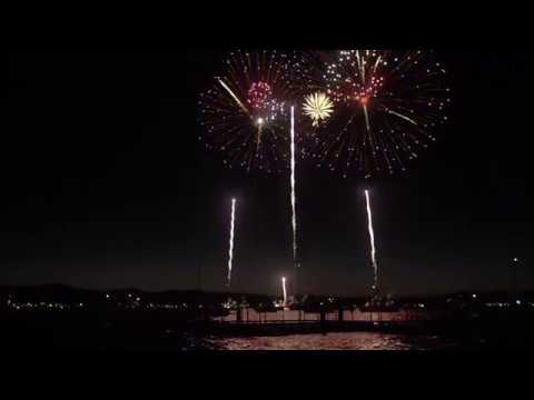 4th of July Fireworks - Lights on the Lake 2019 | Tahoe South