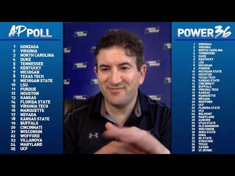 college-basketball-rankings:-top-25,-power-36-two-weeks-from-selection-sunday