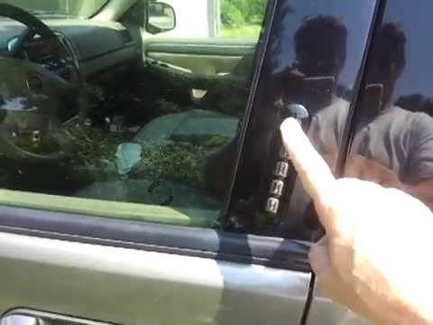 Door Key Code 2002- Up Ford Explorer/Mountainee/Expedition- How To Find It. And A Look Around