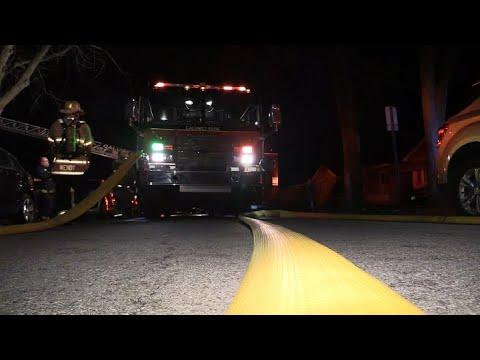 MABAS22- 02-21-20 Calumet Park,IL Fire Dept. House Fire