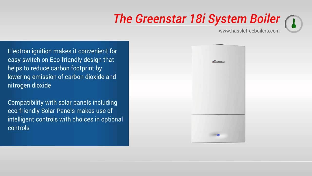 Worcester Bosch Greenstar 18i System Boiler Video Review