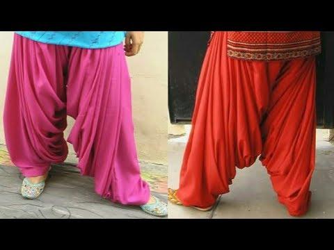 semi patiala salwar 4 koli II DorjiKaz - Dress Designing & Tailoring