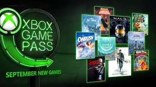 Xbox Game Pass | Juegos de septiembre