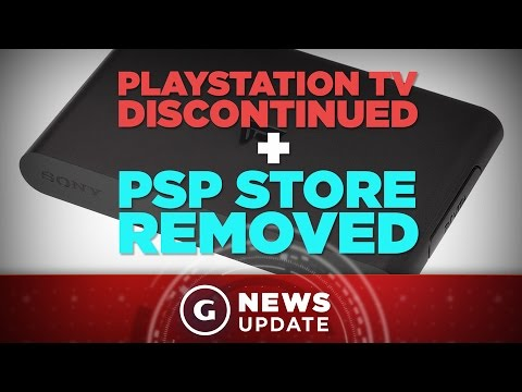 Sony Pulls the Plug on PSP's PlayStation Store and PlayStation TV - GS News Update