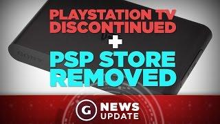 Sony Pulls the Plug on PSP