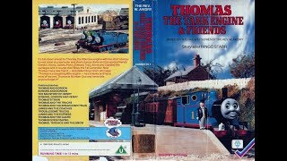 Thomas the Tank Engine & Friends UK VHS 1985