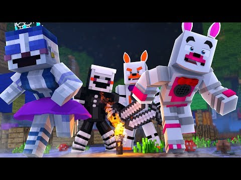 There Are Two Murderers!? (Minecraft Fnaf Roleplay Adventure)