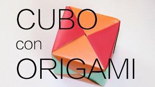 Hacer un cubo con origami