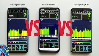 Samsung Galaxy A50 vs Xiaomi Redmi Note 7 / Samsung Galaxy S10+ GPS TEST [BIG SURPRISE!]