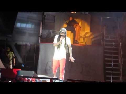Lil' Wayne - She Will (Live) - America's Most Wanted Tour 2013 Austin, TX