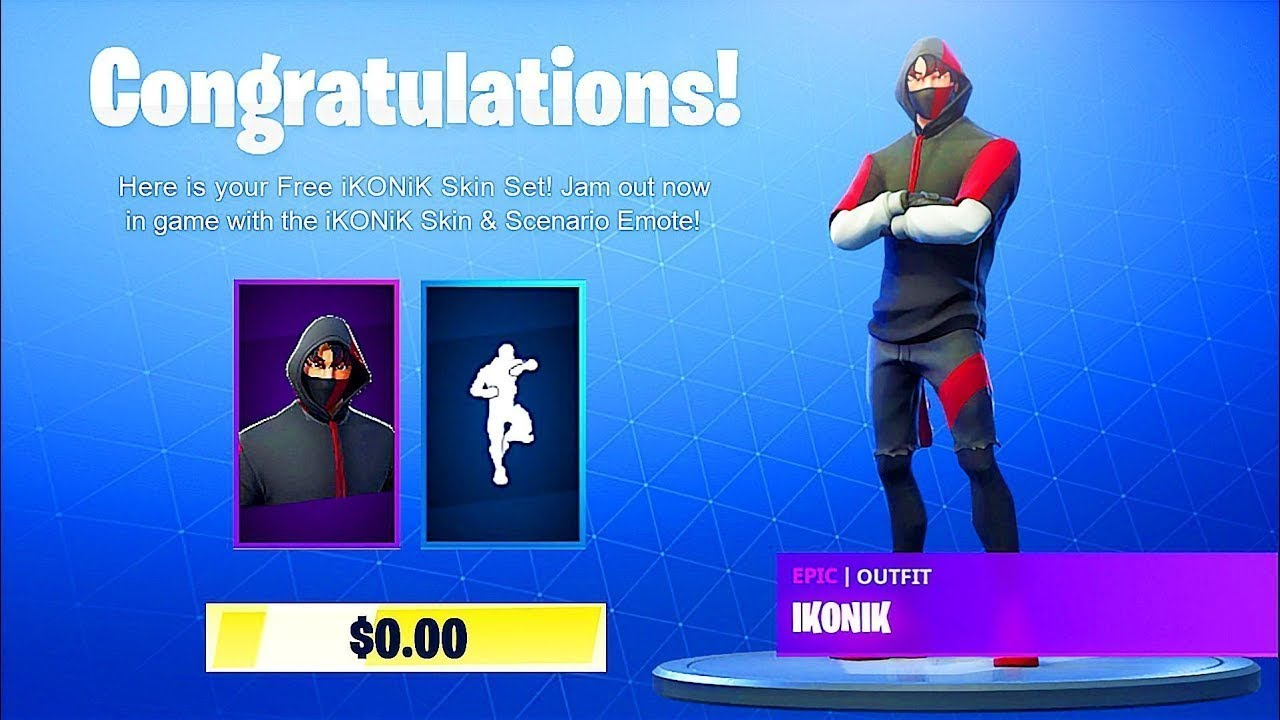 How to get the Ikonik skin for free in Fortniteseason 9 (Working method) by  Running on empty